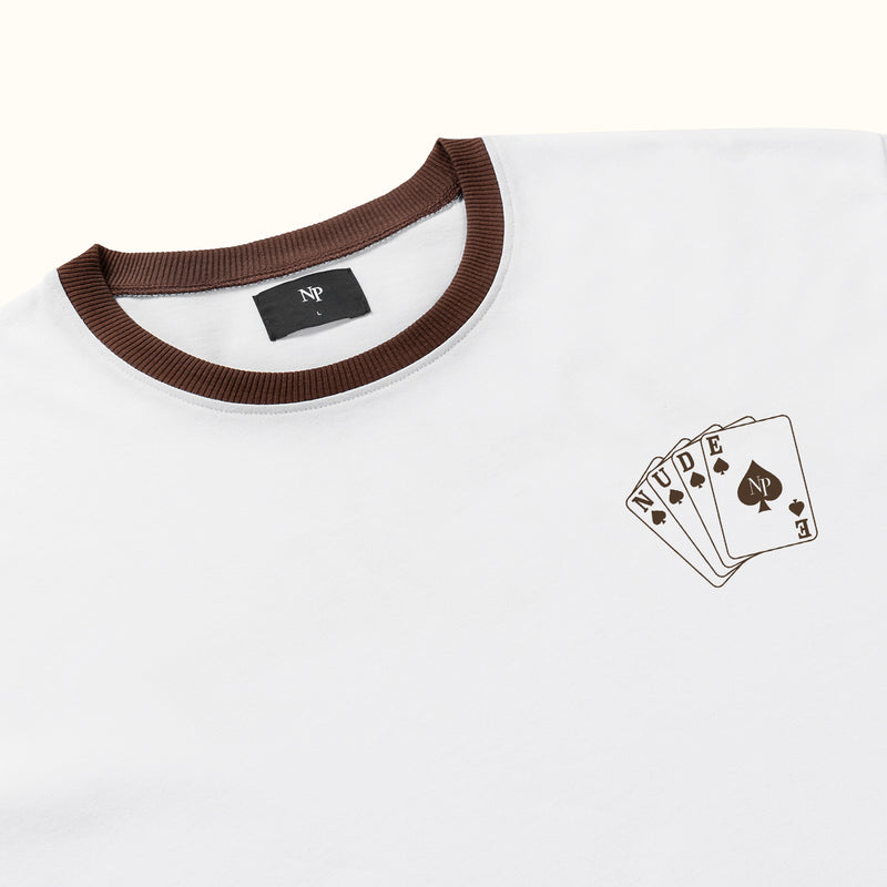 DOUBLE OR NOTHING TEE - NUDE PROJECT