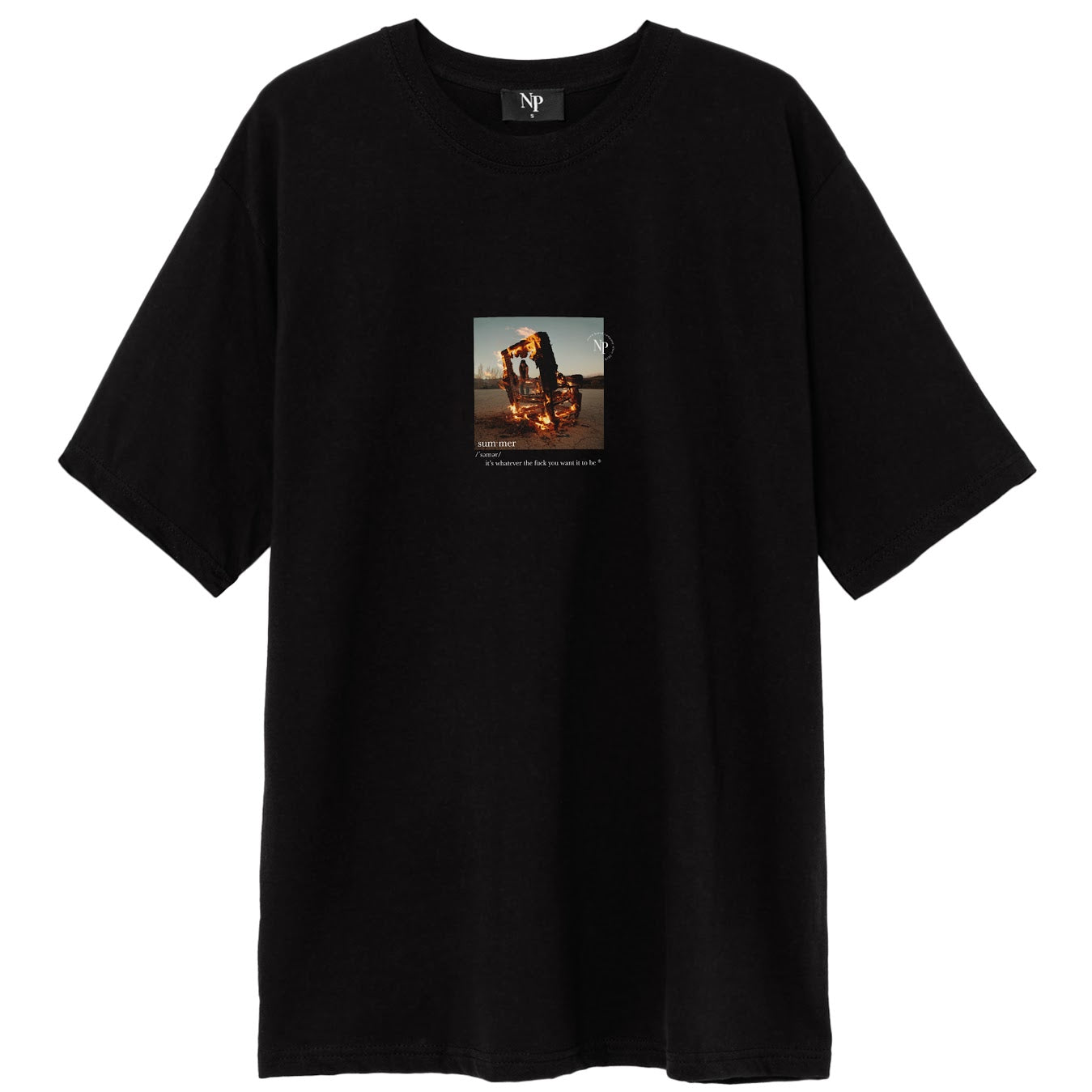 Summer definition t-shirt - NUDE PROJECT