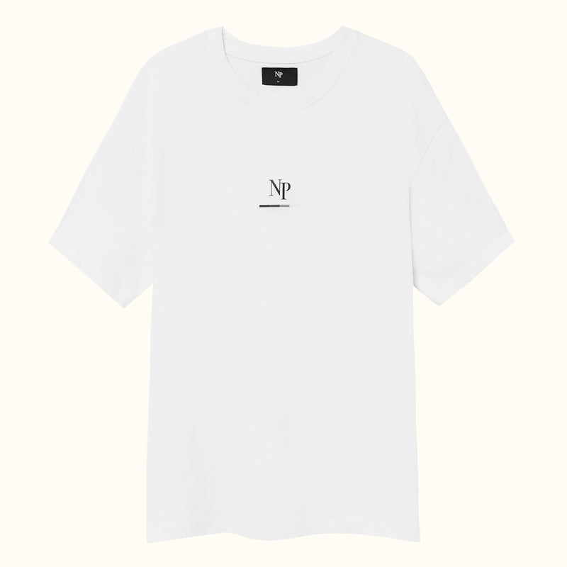 PARADISE TEE WHITE - NUDE PROJECT