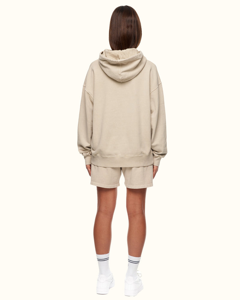 GARMENT DYED HOOD GREY - NUDE PROJECT