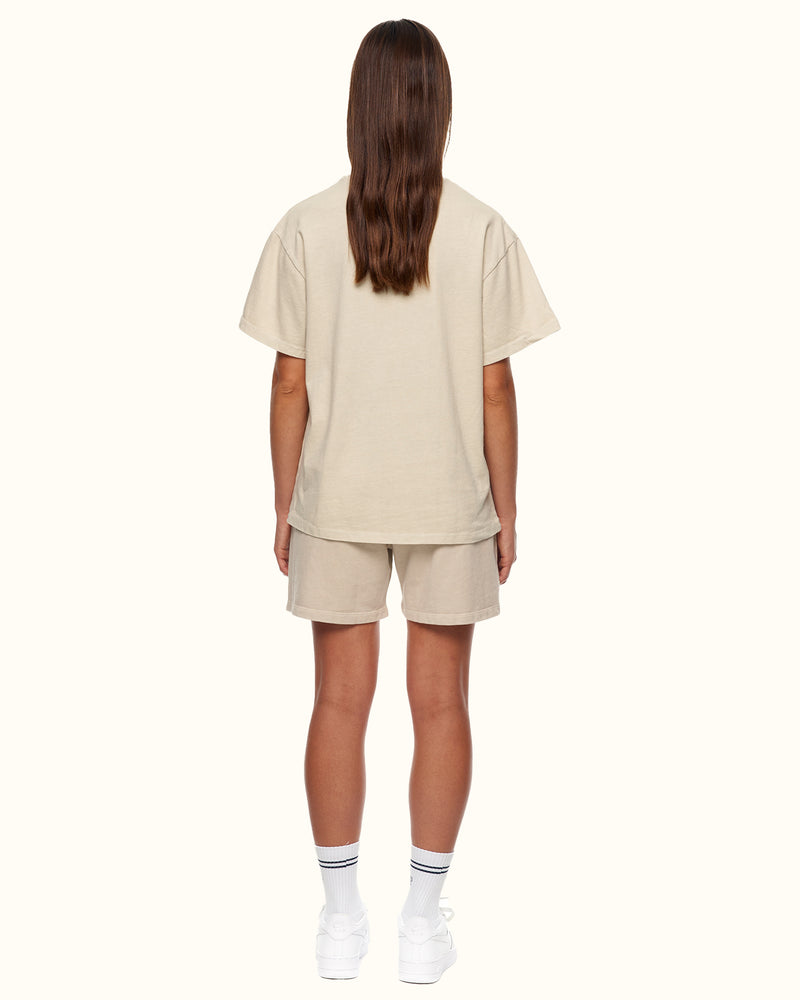 GARMENT DYED TEE GREY - NUDE PROJECT