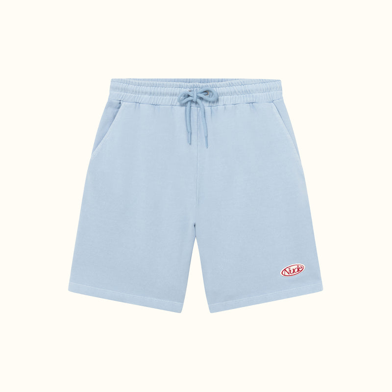 GARMENT DYED SHORTS BLUE - NUDE PROJECT