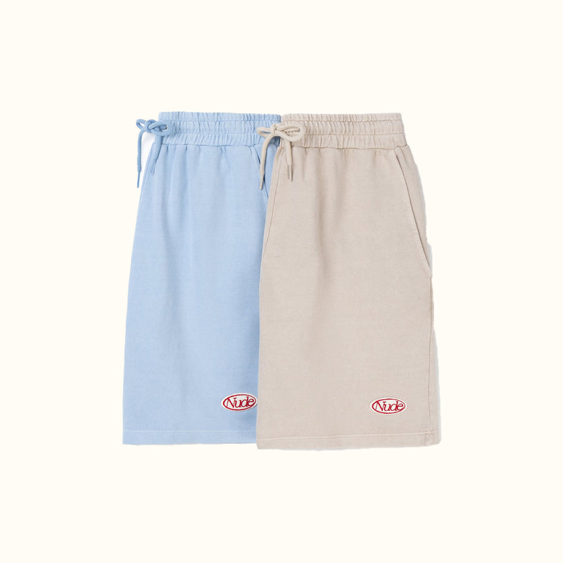 GARMENT DYED SHORTS GREY - NUDE PROJECT
