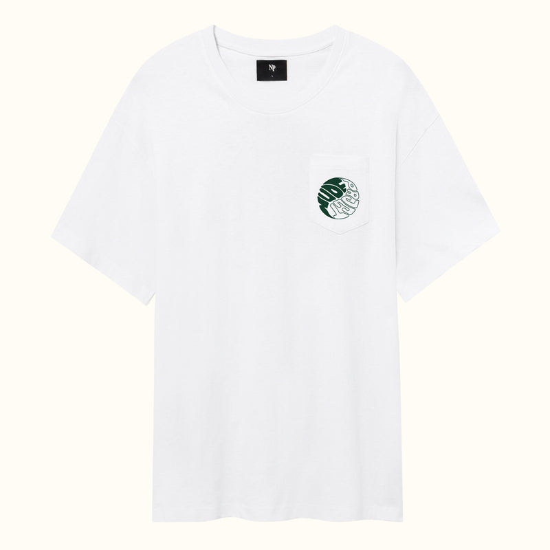 YING YANG TEE WHITE - NUDE PROJECT