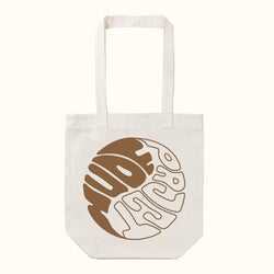 YING YANG BROWN TOTE BAG - NUDE PROJECT