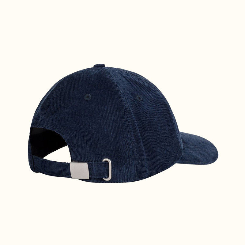 CORDUROY 6 PANELS HAT NAVY - NUDE PROJECT
