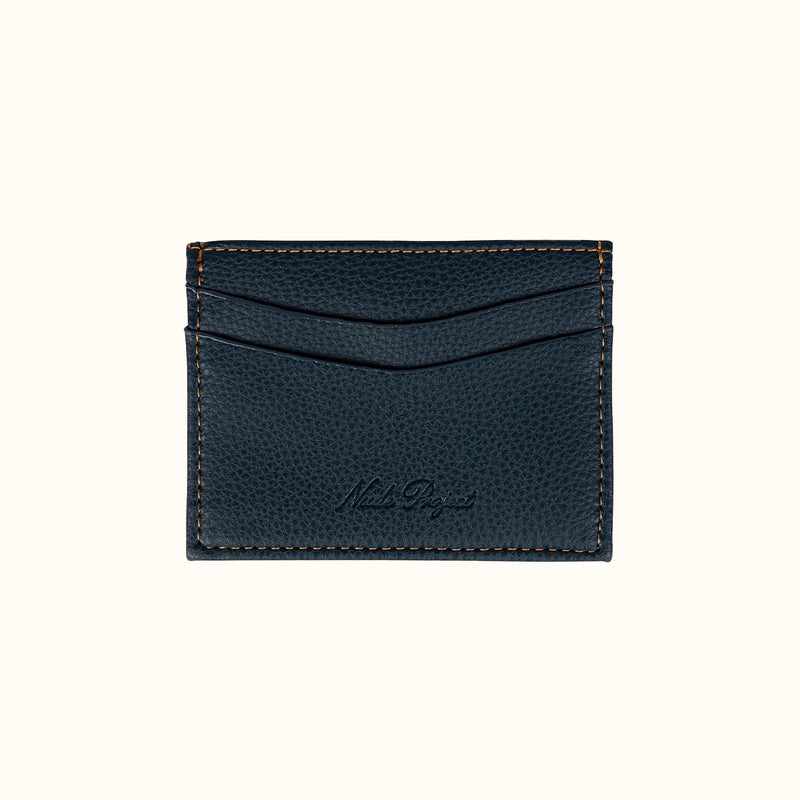 CLASSIC CARDHOLDER NAVY - NUDE PROJECT