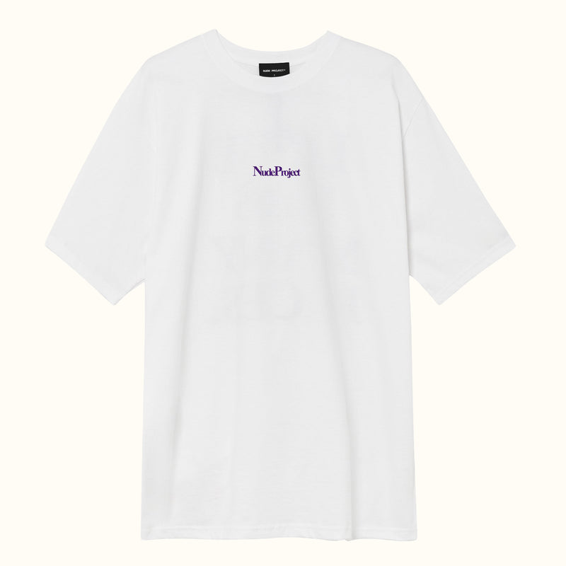 WELCOME TEE WHITE - NUDE PROJECT