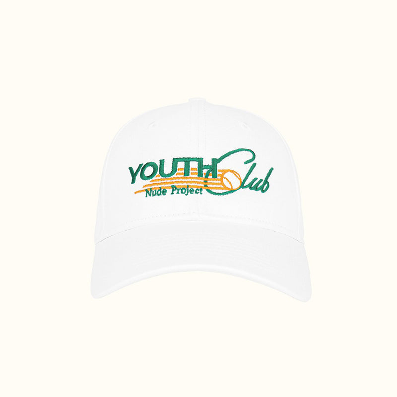YOUTH CLUB 6 PANEL CAP - NUDE PROJECT