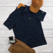 Laden das Bild in den Galerie-Viewer, inselverliebt Herren Polo - navy