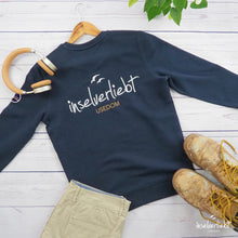 Laden das Bild in den Galerie-Viewer, inselverliebt Sweatshirt - navy
