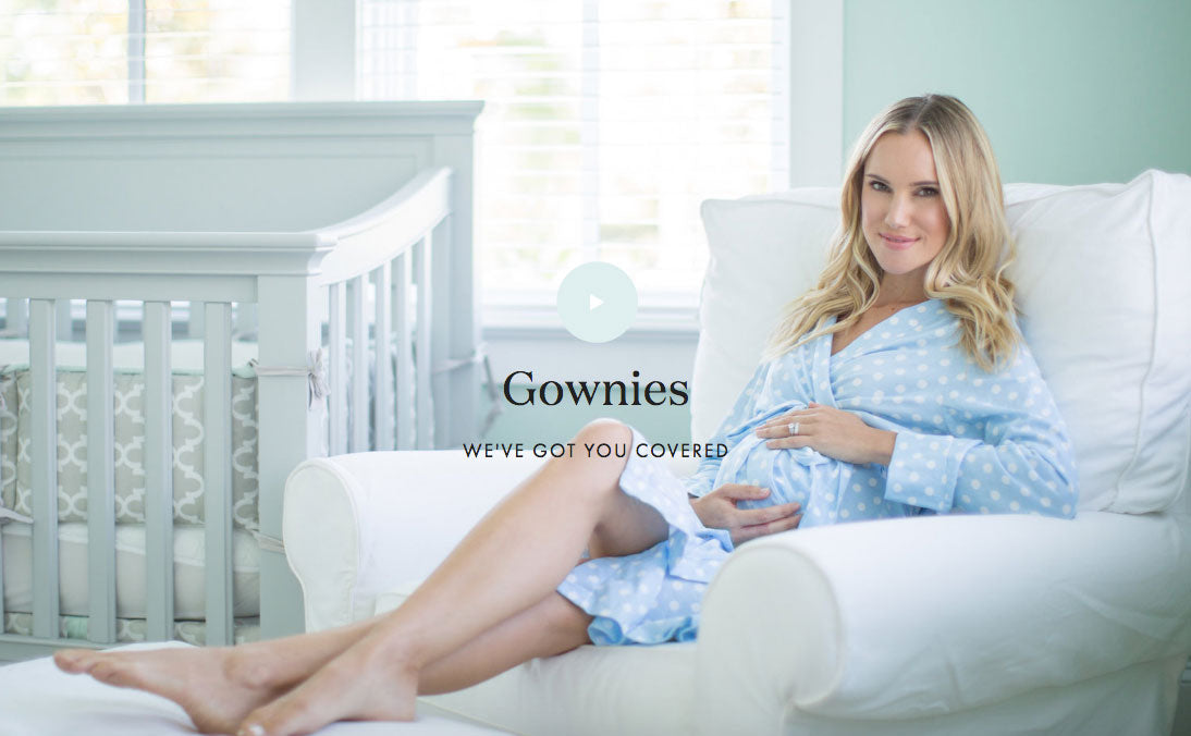 Hospital, Delivery, Maternity, Nursing Gowns and Accessories | Gownies
