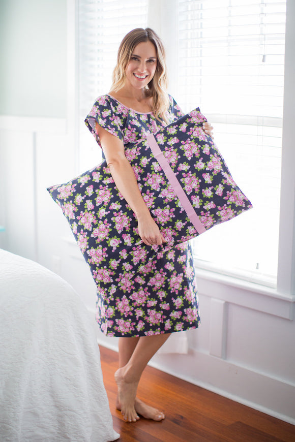 Eve Patient Hospital Gown Gownie & Pillowcase Set