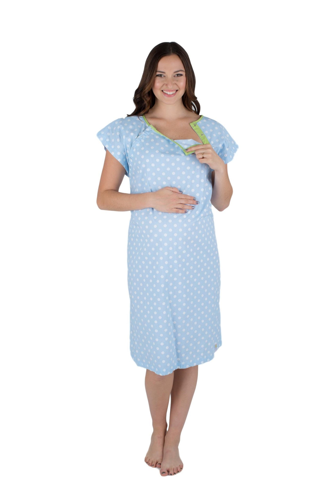 Nicole Gownie Baby Be Mine Maternity Delivery Labor Hospital Gown ...