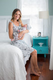 Ella Robe, Nightgown & Baby Set