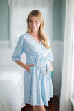 Nicole Robe & Baby Gown Set