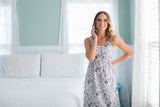 Ella Maternity/Nursing Sleeveless Nightgown & Robe Set