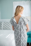 Phoebe Maternity Labor Delivery Hospital Gown Gownie & Pillowcase Set