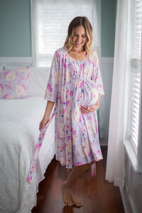Anais Labor Gown & Matching Robe