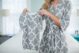 Phoebe Delivery Robe & Matching Baby Gown Set