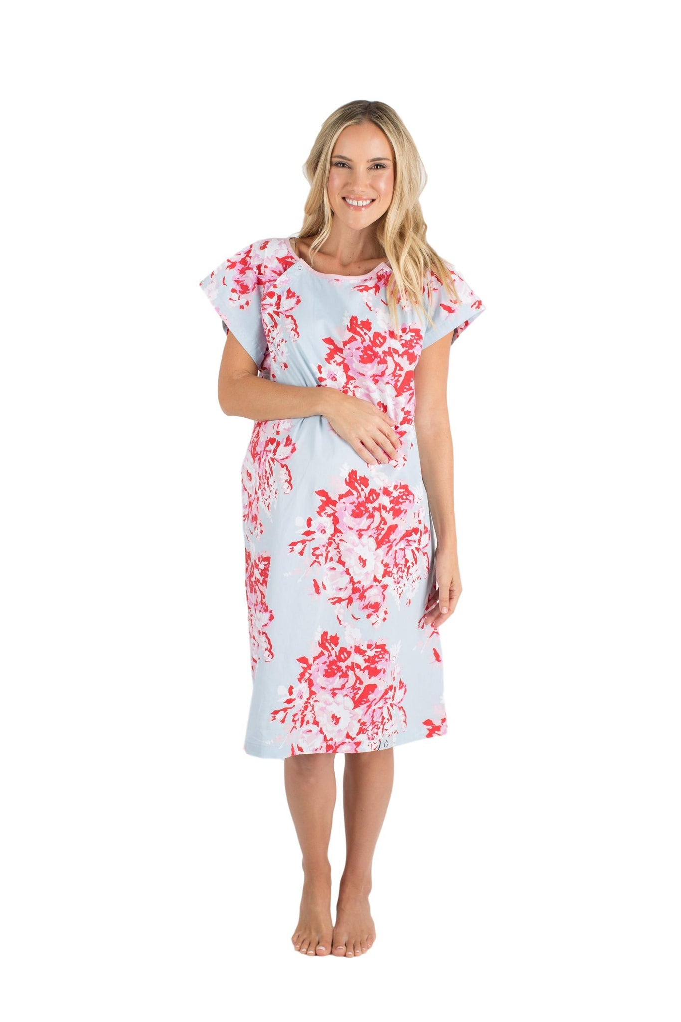 45c549edb1f2c Mae Gownie Maternity Delivery Labor Hospital Birthing Gown – Gownies