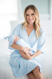 Nicole Delivery Robe & Swaddle Blanket Set