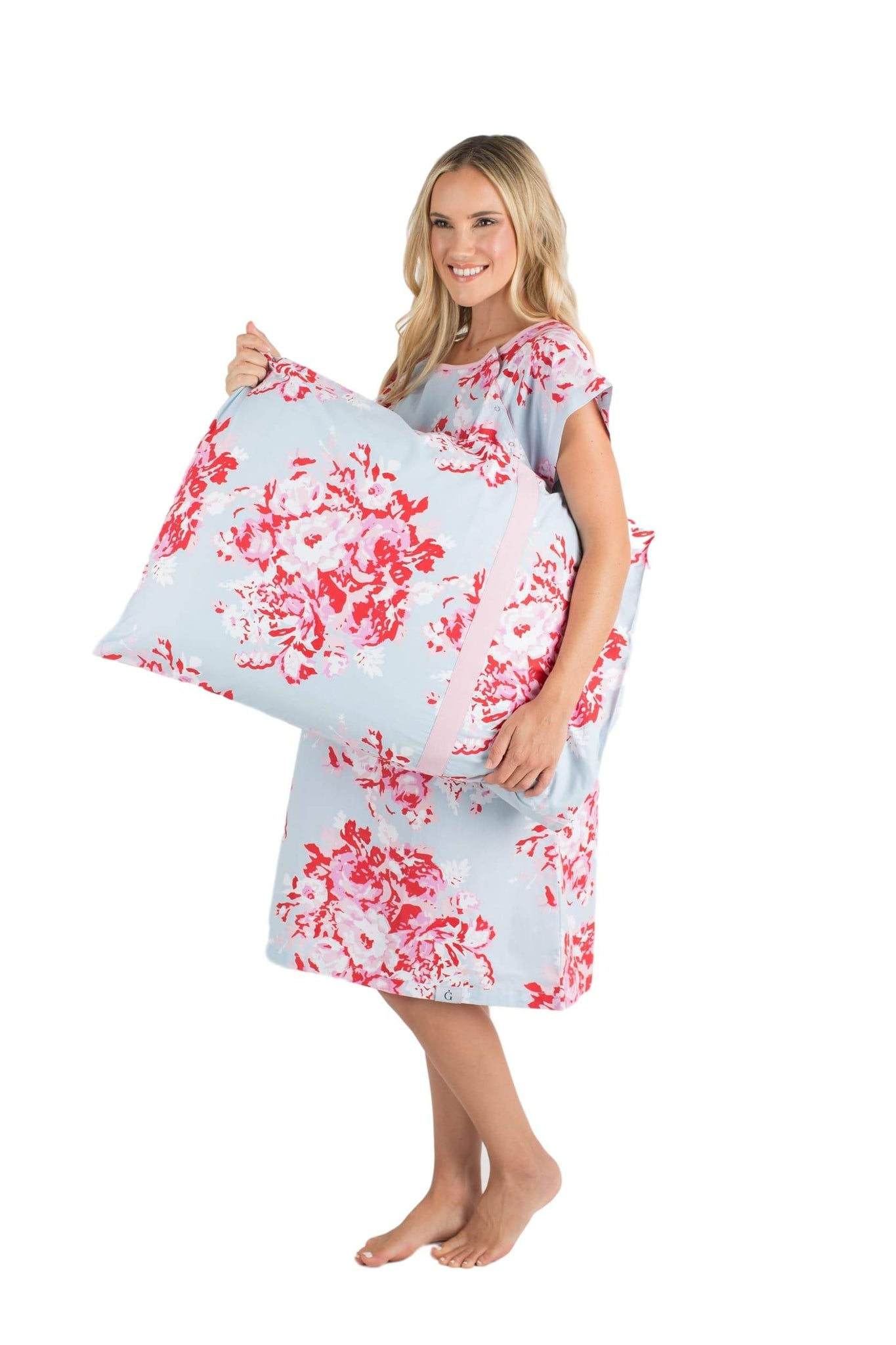 Mae Gownie & Pillowcase Set Maternity Delivery Labor Hospital Gown ...