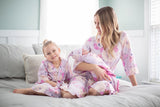 Anais Girl & Mommy Robe& Swaddle Blanket Set