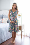 Charlotte Labor & Delivery Birthing Gown