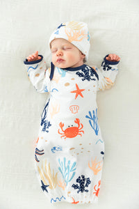 Under The Sea Baby Gown Set