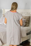 Lisa Hospital Patient Gownie & Matching Pillowcase Set