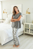 Camo Maternity Nursing Pajamas