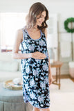 Flore Racerback Maternity/Nursing Nightgown