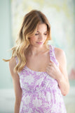 Helen Maternity/Nursing Sleeveless Nightgown