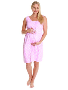 Molly 3 in 1 Labor / Delivery / Nursing Gown & Ready.Set.Push! Labor Socks Set
