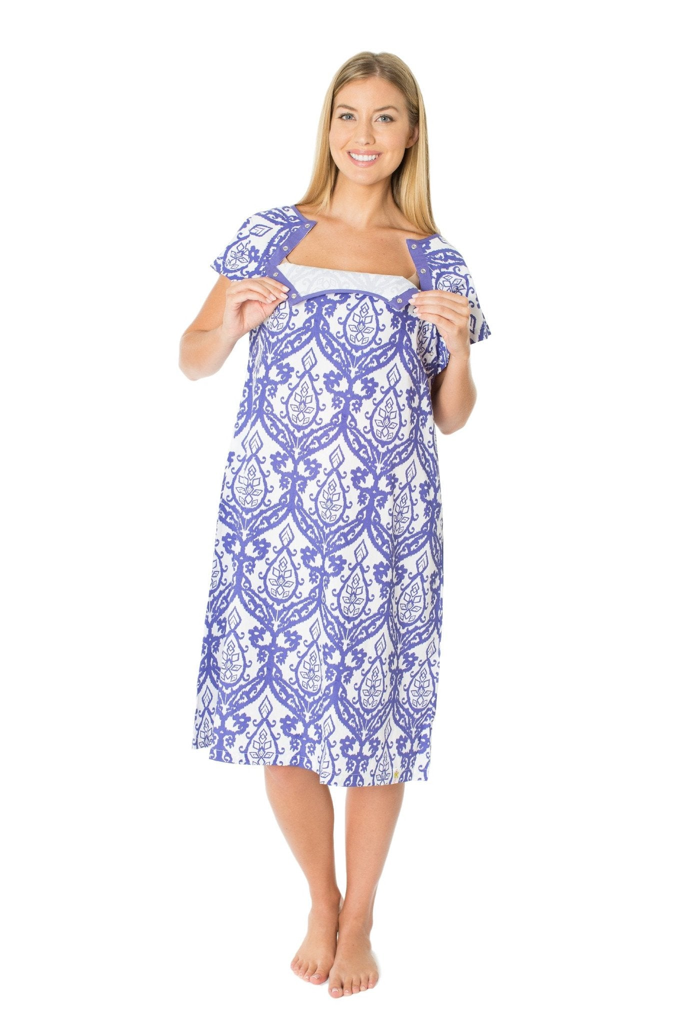 Brie Gownie Maternity Delivery Labor Hospital Birthing Gown – Gownies