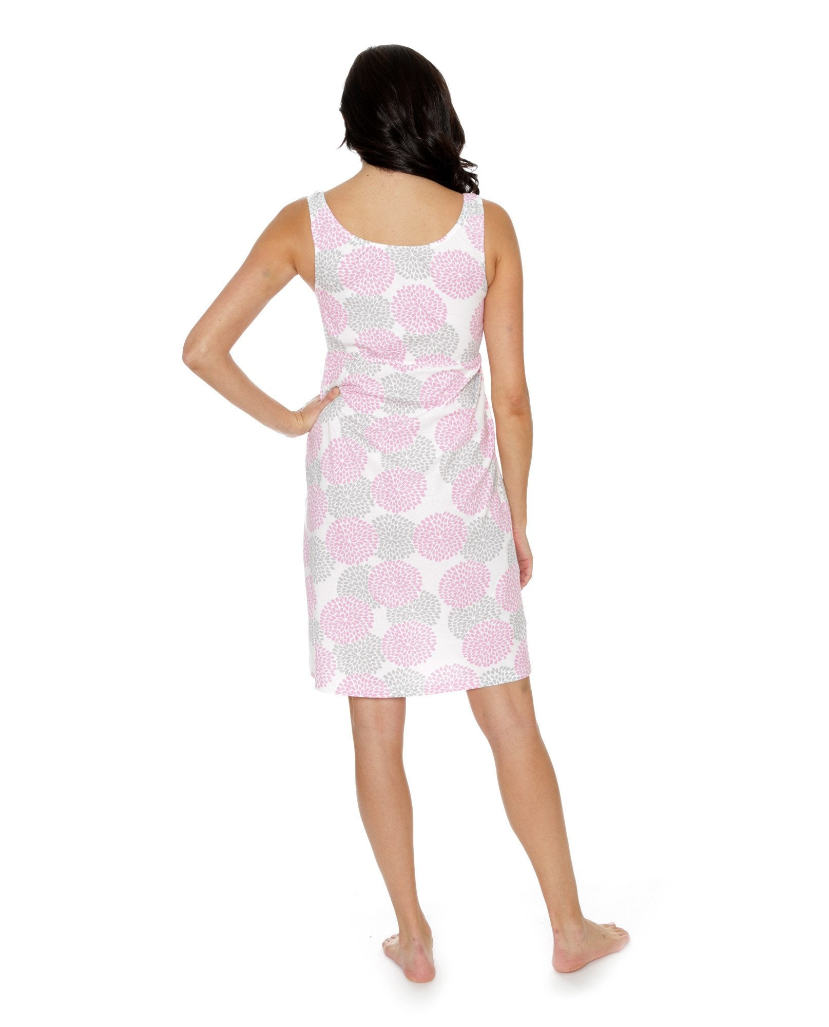 8f4af9000283 Lilly maternity nursing nightgown matching MollyGownie – Gownies