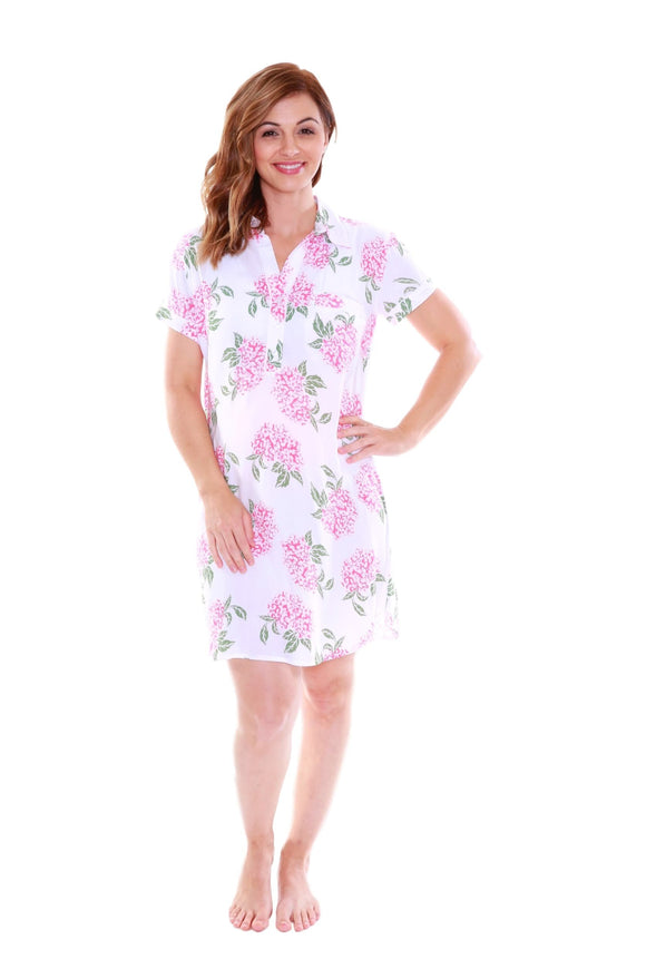 Felicity Luxurious Soft Floral Nursing Nightshirt