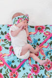 Isabelle Swaddle Blanket & Headband Set