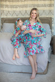 Isabelle Mommy & Big Sister Robe & Matching Swaddle Blanket Set