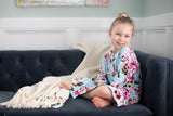 Isla Girl & Mommy Robe & Swaddle Blanket Set