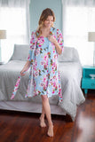 Isla Delivery Robe & Maternity Nursing Nightgown