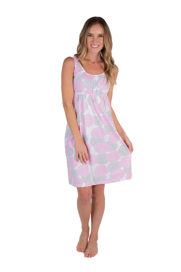 Lilly Maternity/Nursing Sleeveless Nightgown