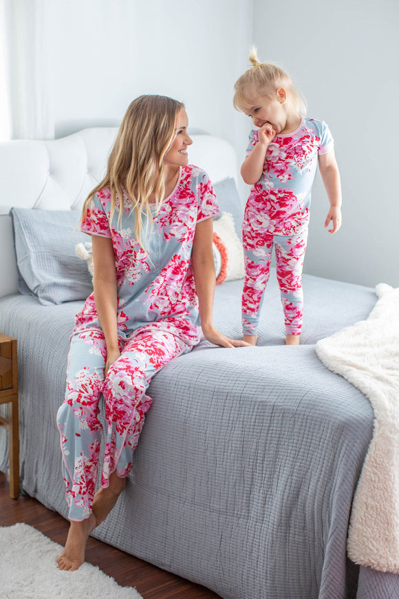 Mae Mommy & Me Matching PJ Sets