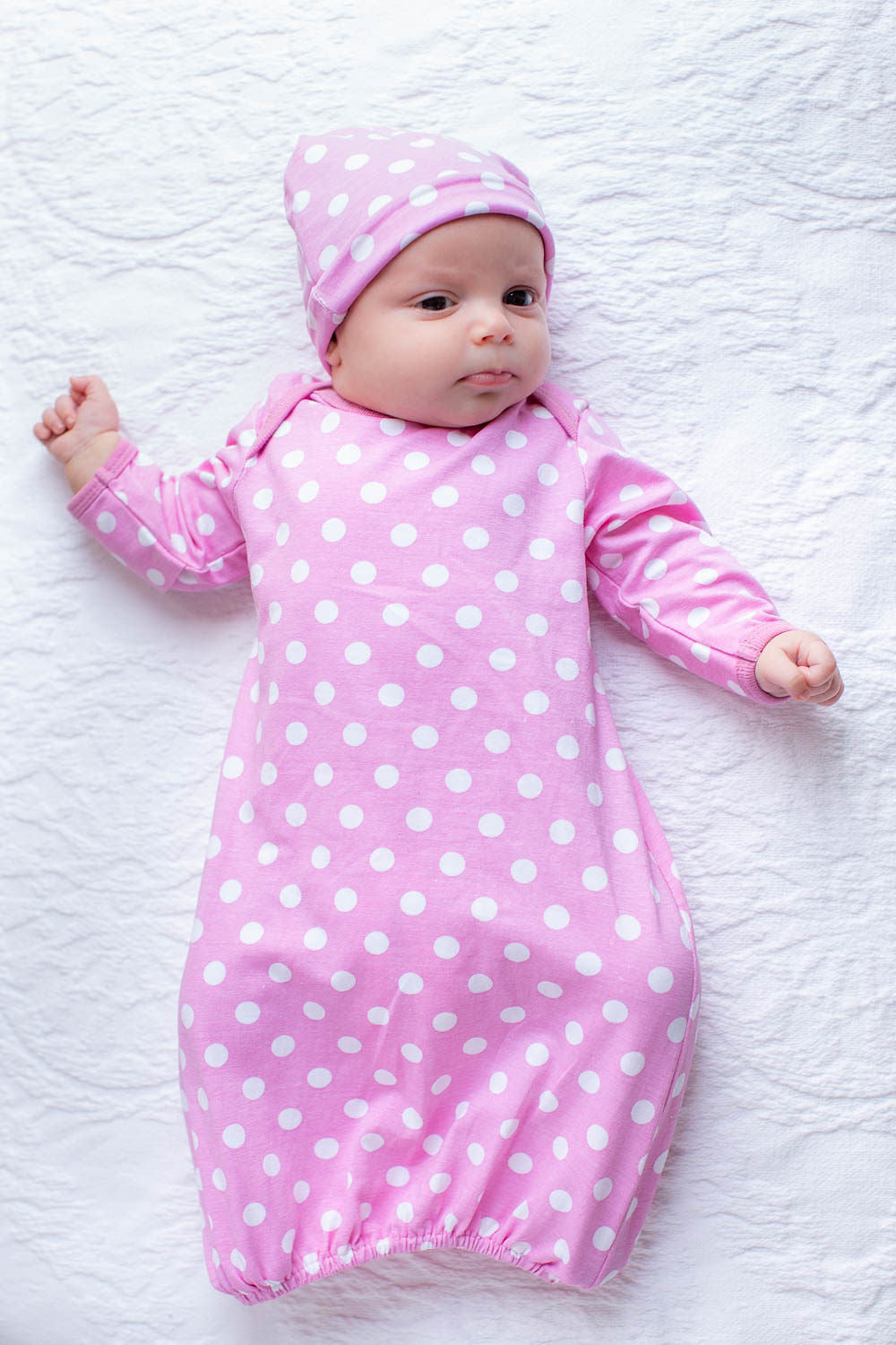 f86d04aa60847 Molly Nursing Nightgown, Robe & Baby Receiving Gown Set – Gownies