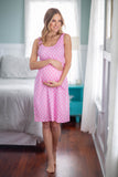 Molly Maternity/Nursing Sleeveless Nightgown