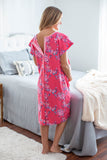Rose Patient Hospital Gown