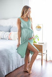 Rainbow Robe & Sage 3 in 1 Labor Gown