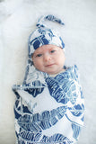 Serra Delivery Robe & Matching Swaddle Blanket & Hat