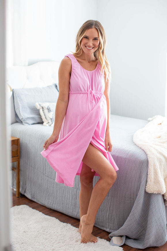 America's Best Selling Labor and Delivery Gown, bring your own Gown for your hospital stay